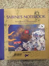 "SABINE'S NOTEBOOK Nick Bantock: 1992 Chronicle Books HC:  ""MINT, NEW, DUST JCKT"""