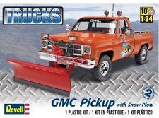 Revell Monogram 1970's GMC Pickup Truck with Snow Plow model kit 1/24