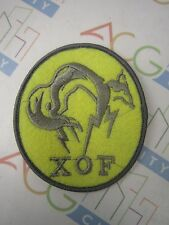 PS3 PS4 Metal Gear Solid Ground Zeroes V 5 XOF Cosplay Patch Badge Peace Walker