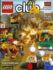 2012 Lego Club Magazine: Monster Fighters Lord Vampyre/Ninjago/City Gold Mines