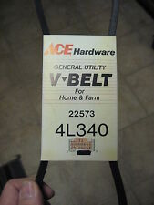 "ACE General Utility V-Belt Home & Farm Use 1/2"" x 34"" 4L340"