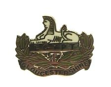 GLOUCESTERSHIRE REGIMENT CLASSIC HAND MADE PLATED IN UK LAPEL PIN BADGE
