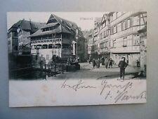 Ansichtskarte Pflanzbad Strassburg Pesonen Straßenzug 1900/1910 ?
