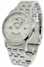New Orient Multi-year calender automatic Gent's watch EU0A003W