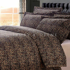 NEW LUXURY LEOPARD FUR KING Sz Doona Duvet Quilt Cover Animal Print Bedding Set
