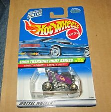 1999 Hot Wheels Treasure Hunts Express Lane no.12 of 12 New Sealed