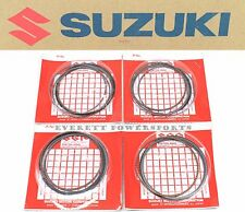 New Genuine Suzuki Hayabusa x4 Piston Ring Set 99-07 GSX1300R OEM #Q183