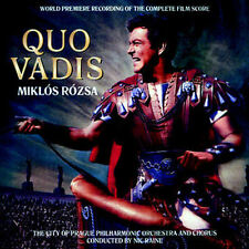 Quo Vadis - 2 x CD Complete Score - Limited Edition - Miklos Rozsa