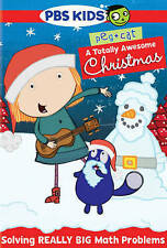 Peg + Cat: A Totally Awesome Christmas (DVD, 2015)* A PBS KIDS SPECIAL*NEW