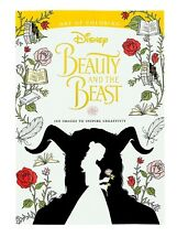 Beauty and the Beast Art of Coloring Book Disney World Theme Parks NEW