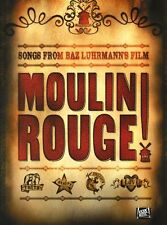 Moulin Rouge Baz Luhrmann Sheet Music Piano Book PVG