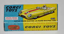 Reprobox Corgi Toys Nr. 151A - Lotus Mark Eleven Le Mans Racing Car