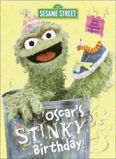 Oscar's Stinky Birthday (Scented Sticker Coloring Book)