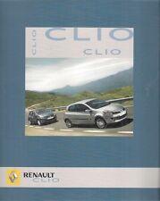 Renault Clio 2005 UK Market Launch Sales Brochure 3-dr 5-dr