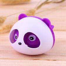 Panda Auto Car Air Freshener Clip Perfume Diffuser for Car Fragrances Purple