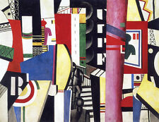 The City   by Leger Fernand   Giclee Canvas Print Repro