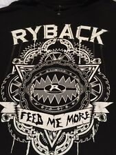 Ryback Feed Me More T-shirt Wwf Wwe 2xl Authentic 2sided Hulk Undertaker✅