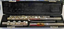 *BEAUTIFUL* Gemeinhardt KGG 43SHB Solid Silver Head w/ Gold Plated Hole Flute