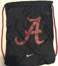 Alabama Crimson Tide  Drawstring Backpack by Nike NEW with Earbud hole