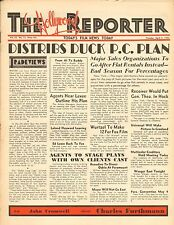 APRIL 5 1932 THE HOLLYWOOD REPORTER movie magazine - DISTRIBS DUCK P.C. PLAN