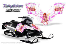 POLARIS SHIFT RMK DRAGON SNOWMOBILE SLED GRAPHICS KIT CREATORX WRAP FAIRYL PW