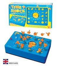 TIME SHOCK GAME Wind Up Timer Toy BEAT THE CLOCK Shapes Perfection Gift Box