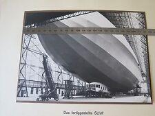 BUYMUC  XL Foto Luftschiff Zeppelin  LZ 126 das fertiggestellte Schiff