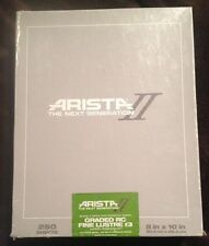 Arista Black And White Photographic Paper