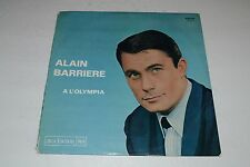 Alain Barriere~A L'Olympia~1964 French Pop~Chanson~French IMPORT~FAST SHIPPING!