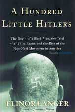 NEW Hitler BOOK A Hundred Little Hitlers - Elinor Langer Hardback