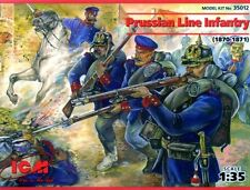 PRUSSIAN LINE INFANTRY 1870-71 1/35 ICM