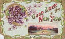 """Good Luck in the New Year"" Post Card"