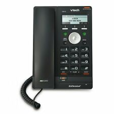 Vtech VSP715 ErisTerminal 2 Lines SIP VoIP IP HD Voice Phone PoE + Power