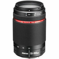 New PENTAX HD DA 55-300mm f/4-5.8 ED WR Lens for Pentax K Mount Camera t