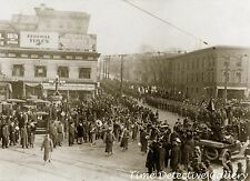 Funeral of Buffalo Bill Cody, Denver, Colorado - 1917 - Historic Photo Print