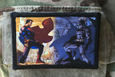 Batman VS Superman Movie 2x3  Morale Patch  Molle Milspec Dawn of Justice