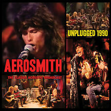 AEROSMITH New Sealed 2017 UNRELEASED LIVE 1990 ACOUSTIC CONCERT CD