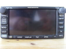 TOYOTA COROLLA TNS600 SAT NAV NAVIGATION HEAD UNIT SCREEN FUJITSU TEN 19003