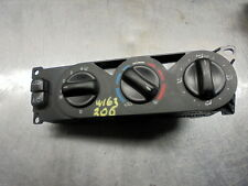 [ref.200] 00 Mercedes ML 270 CDI W163 Heater A/C Control Panel Switches 16383001