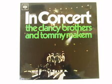 THE CLANCY BROTHERS AND TOMMY MAKEM - IN CONCERT - LP
