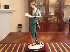 """Guiseppe ARMANI """"The Book"""" Figurine Limited Edition #2308 of 5000"""