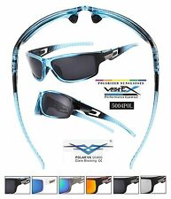Wholesale Lot (6) VertX Premium Polarized Sport Sunglasses Wrap Around 5004pol