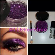 Glitter Eyes Purpl, with Fix Gel, Application Wand, loose glitter. 10g. Sparkly