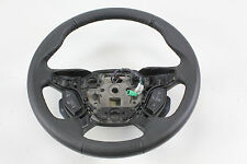 2012 - 2014 FORD FOCUS STEERING WHEEL W/ RADIO & PHONE CONTROL BLACK LEATHER OEM