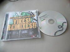 LONDON ELEKTRICITY : YIKES! YIKES REMIXES CD ALBUM 10 TRACKS HOSPITAL RECORDS