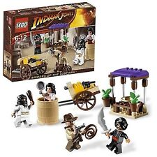 Lego Indiana Jones Raiders of the Lost Ark Ambush in Cairo (7195) New Sealed Box