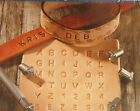 """Leather Stamp Set - 36pc 1/4"""" / 0.25 in Metal Alphabet & Numbers by Artminds New"""