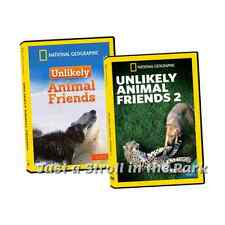 Unlikely Animal Friends: Complete TV Series Seasons 1 & 2 Box / DVD Set(s) NEW!