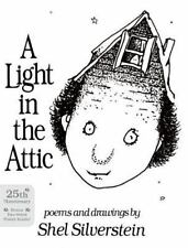A Light in the Attic by Shel Silverstein  Hardcover, NO DJ)