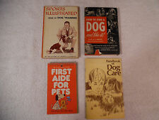 Dog Training Care First Aid How to Own a Dog 4 Lot 59-6E